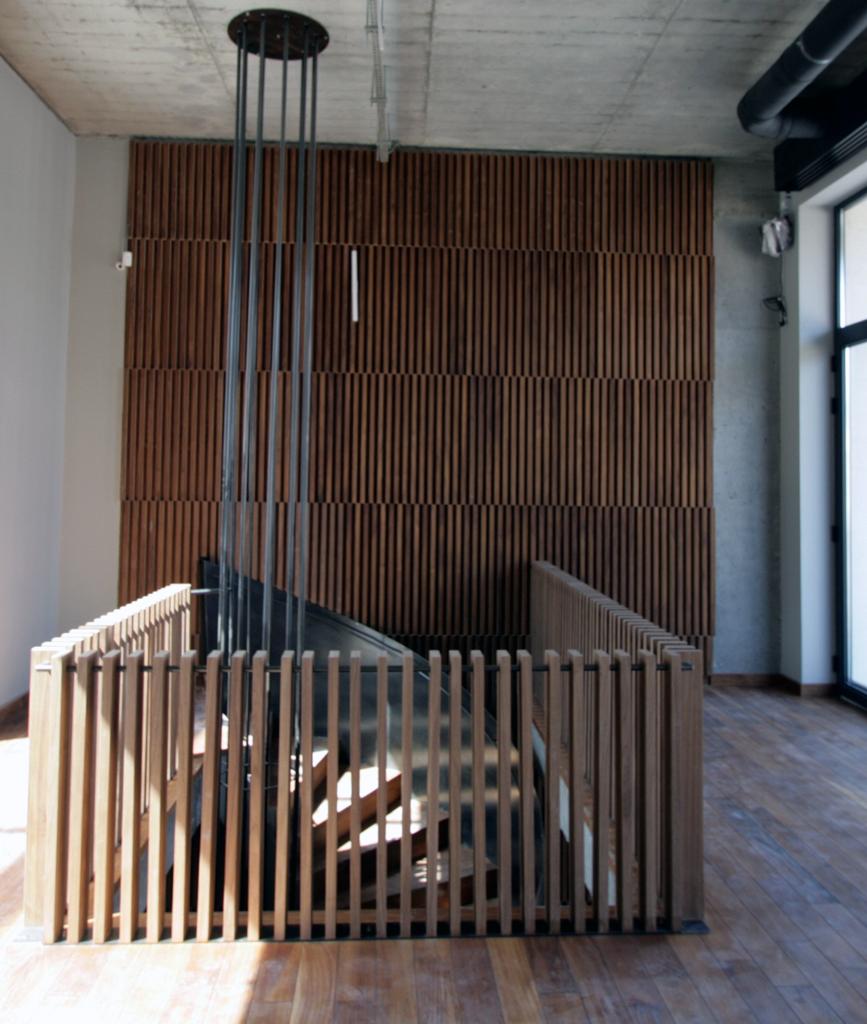 Atipic-placare casa scarii furnir -cafenea Hermes