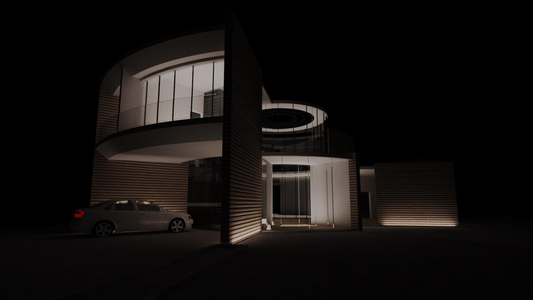 exterior acces noapte