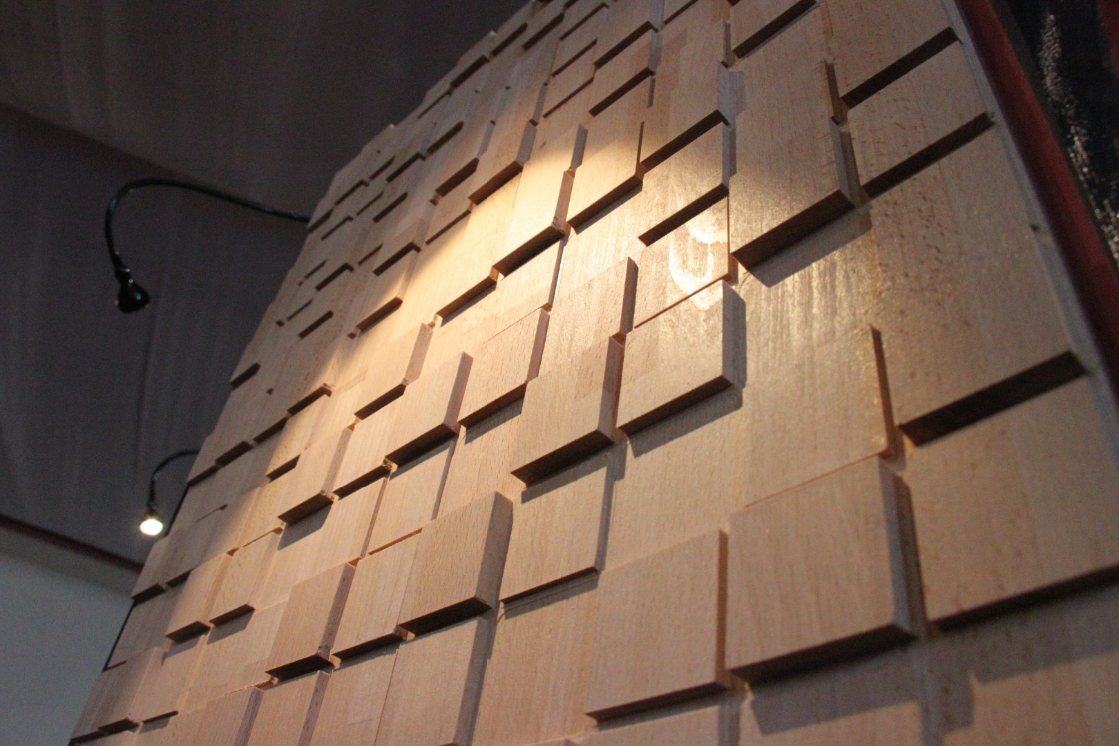decorative panels 3D wood