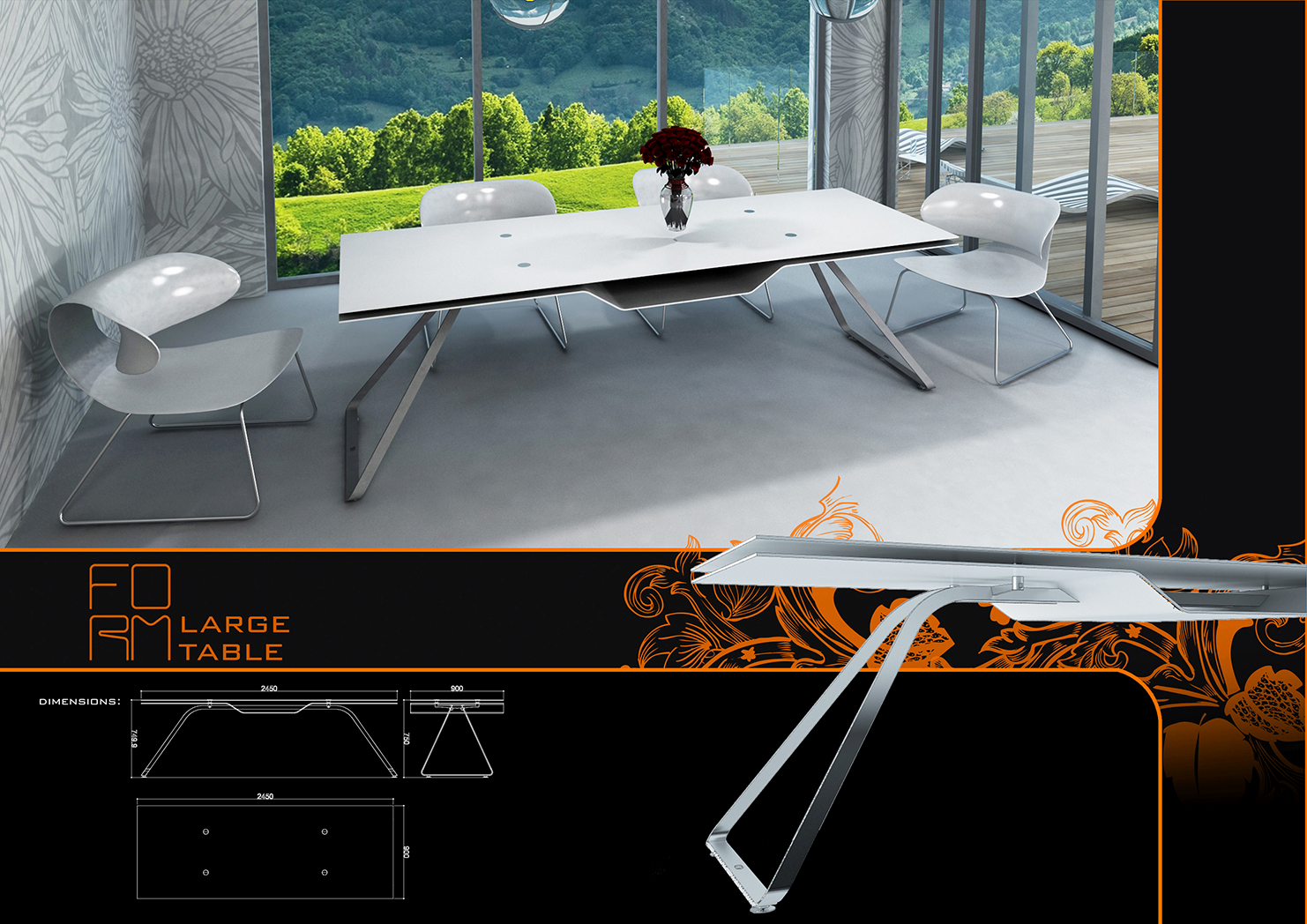 form dining table 1- limited edition furniture