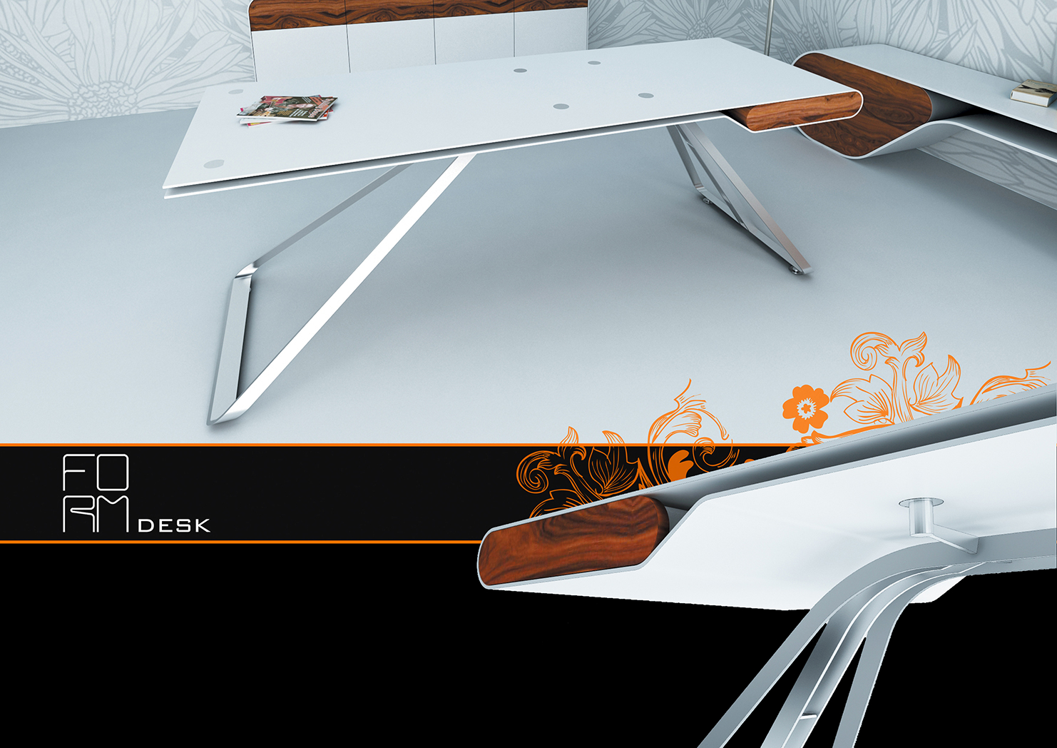 form desk 1- limited edition furniture