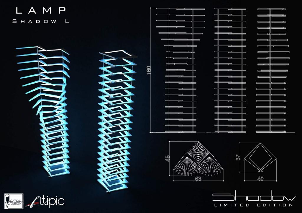shadow mobilier editie limitata compozit Corian lemn masiv furnir birou masa dulap004