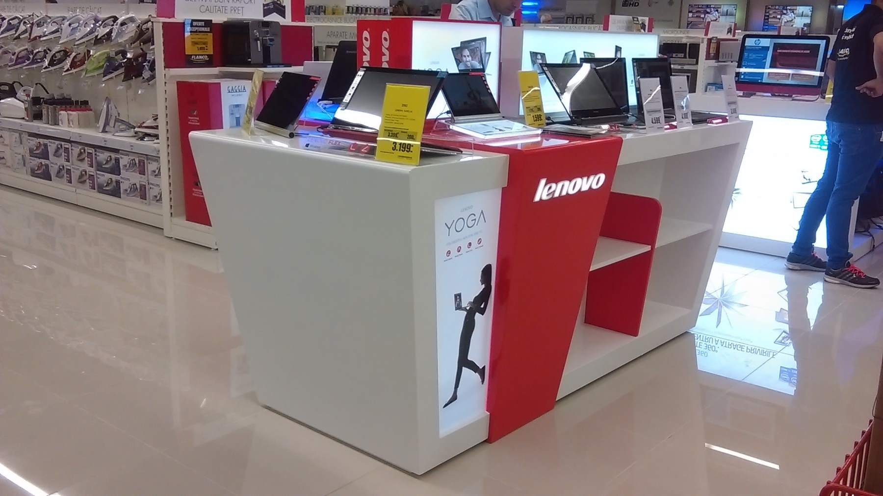 mobilier stand LENOVO mall mdf vopsit006