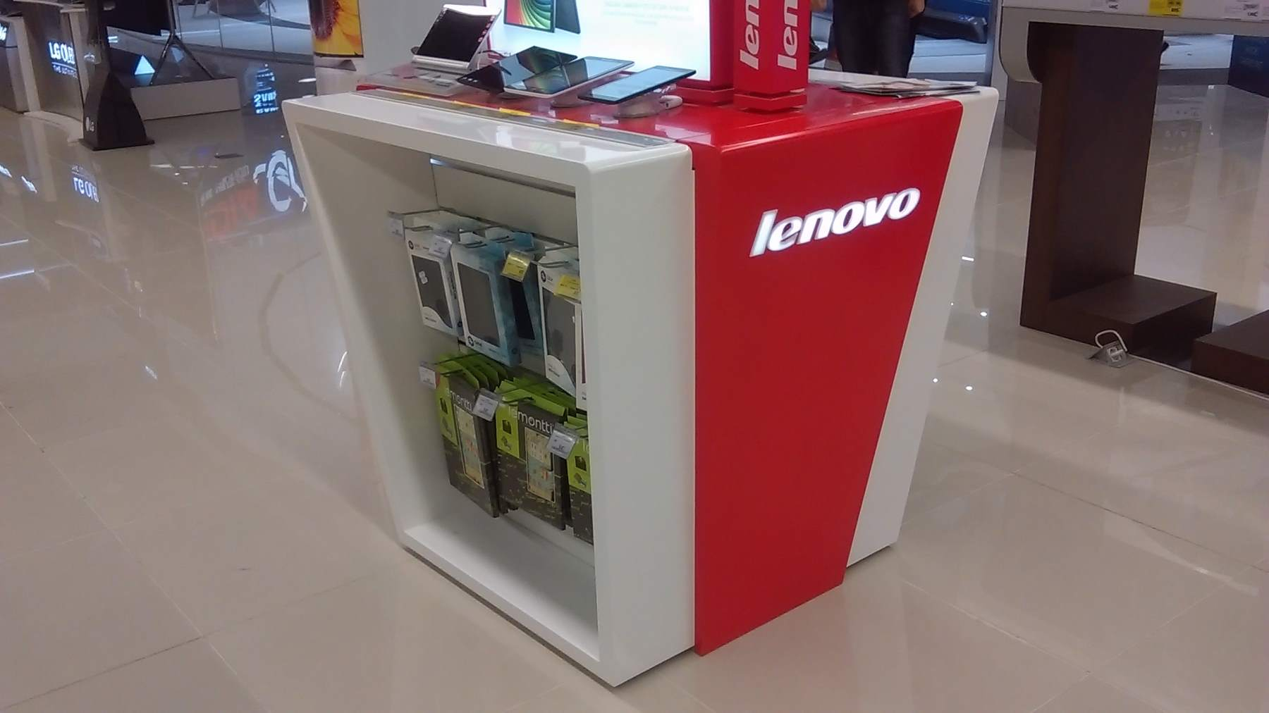 mobilier stand LENOVO mall mdf vopsit009